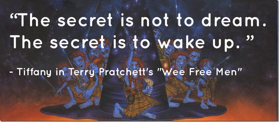 woken up pratchett